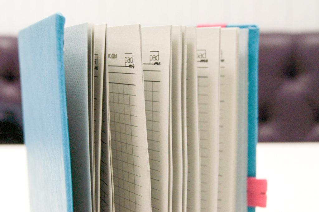 Блокнот для записи расходов/доходов на два года.