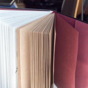 Ежедневник с крафтовой бумагой