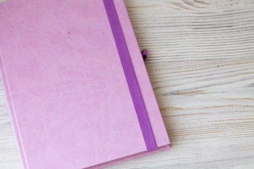 Ежедневник с прямыми углами