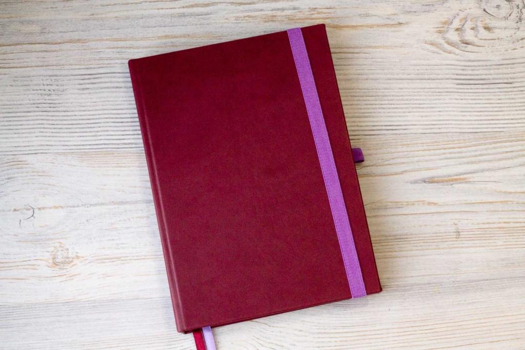 Ежедневник с поквартальным планированием и поездками