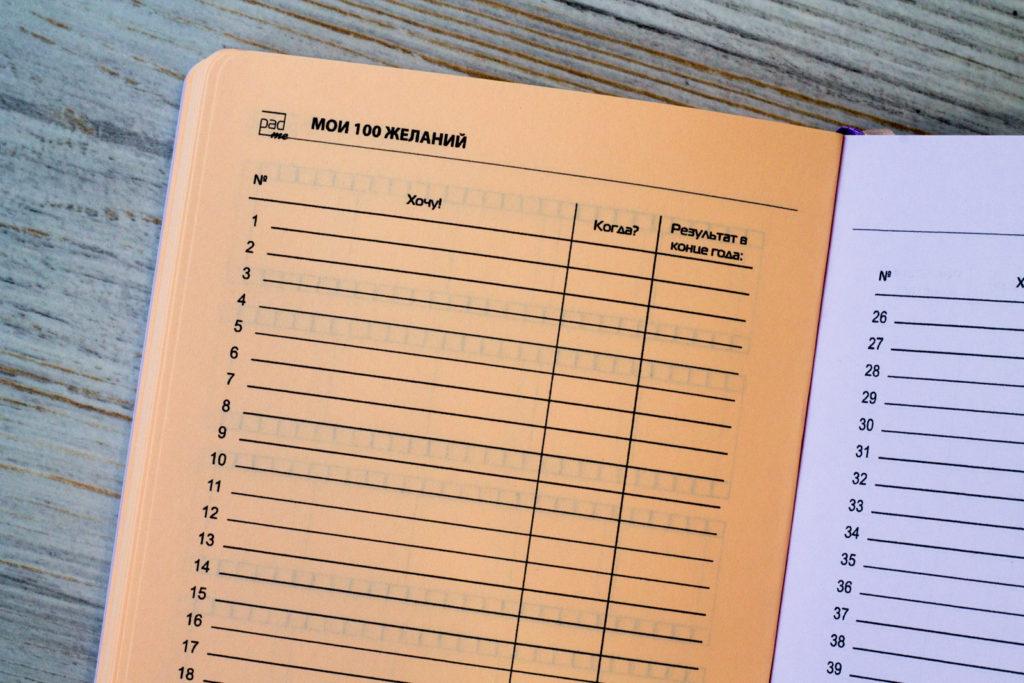 Ежедневник А6 в гибкой обложке с трекерами и данными по счетчикам