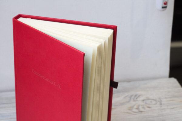Красный ежедневник
