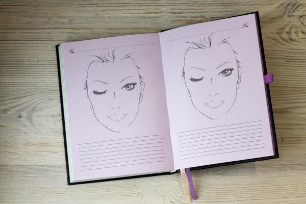 Ежедневник для косметолога с планингами и расходами