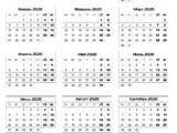 Календарь на 1 год 169